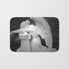 crying angel Bath Mat