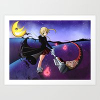 soul eater Art Prints featuring Soul Eater by Psyconorikan