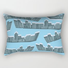 building pattern Rectangular Pillow