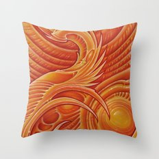 bioscape4 Throw Pillow