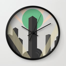 New Heights Wall Clock
