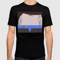 Ezri Dax Minimalist Star Trek DS9 Deep Space Nine - Lieutenant  - startrek - Trektangles MEDIUM Mens Fitted Tee Black