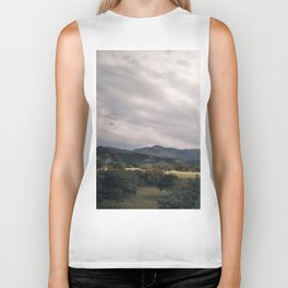 Cypress mountains and forests Biker Tank