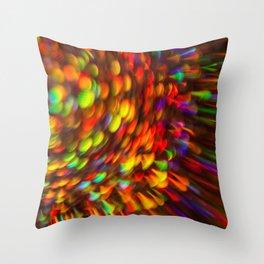 Rainbow Star Light Throw Pillow