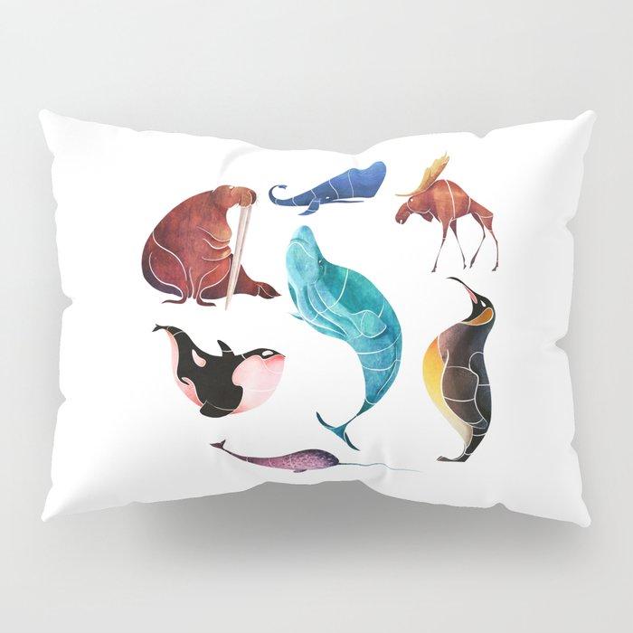 Arctic animals Pillow Sham