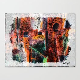 Tap Dance Abstract Canvas Print