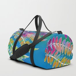 Azure Daydream Duffle Bag