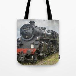 Beautiful steam train Tote Bag