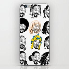 Snoop Dogg Hair iPhone Skin