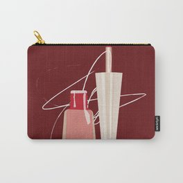When Red Meets RED Carry-All Pouch