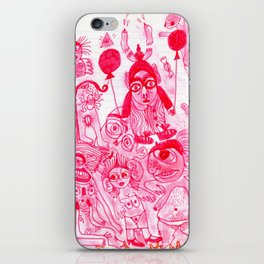 bubble gum dream iPhone Skin