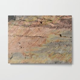 Colors of the Fountain Formation Metal Print