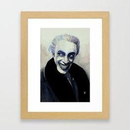 The man who laughs Framed Art Print