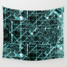 Integrated Circuit Wall Tapestry