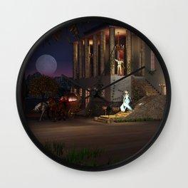 Cinderella's Coach Wall Clock