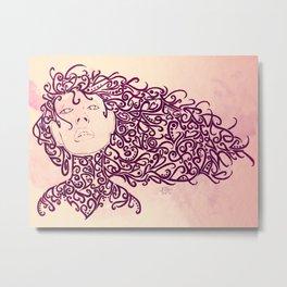 The Muses, no. 4 Metal Print