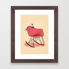 Skateable Chair | Eames Framed Art Print