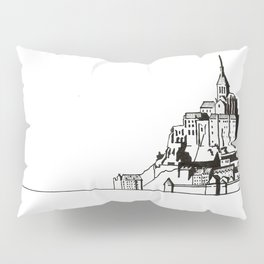 Mont Saint-Michel Pillow Sham