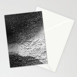 Splatter-Black Stationery Cards