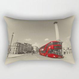 Trafalgar New Bus for London Rectangular Pillow