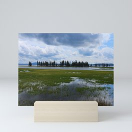 Yellowstone Lake At Pelican Creek Mini Art Print