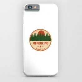 Mendocino National Forest iPhone Case