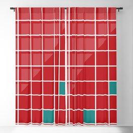 colorfield square Blackout Curtain