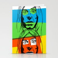 iggy Stationery Cards featuring Iggy by Mohac