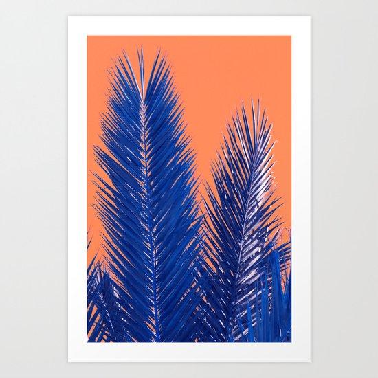 Tropical abstract(10) Art Print