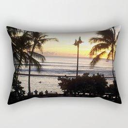 Waikiki Dusk Rectangular Pillow