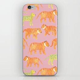 Pink Tigers iPhone Skin