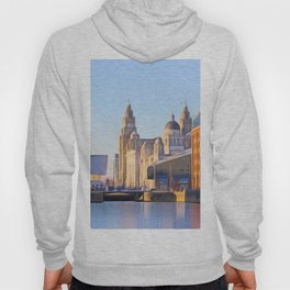 Albert Dock And the 3 Graces Hoody