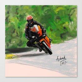 Superbike Canvas Print