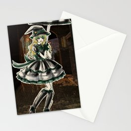 Draco Slytherin Halloween Witch Stationery Cards