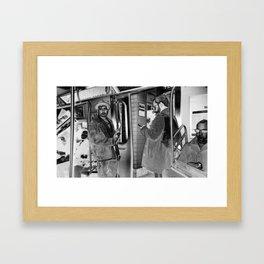 Atlantic Avenue Framed Art Print