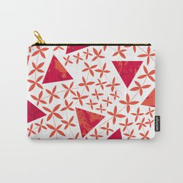 Shapes in Nature : Red Carry-All Pouch