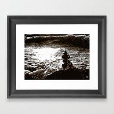 On°the^Shore Framed Art Print