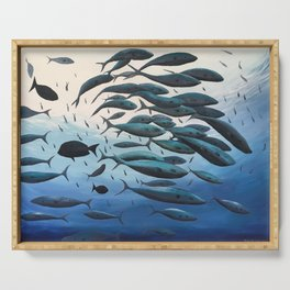 School of Fish Serving Tray