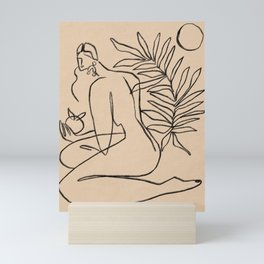 Summer lines V||| Mini Art Print
