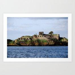 Inchmickery Island - Fife, Scotland Art Print