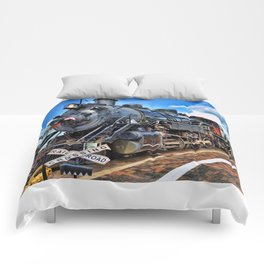 Steam Train Comforters