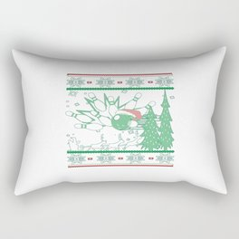 Bowling Christmas Rectangular Pillow