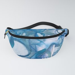 Abstract Blue Abyss Fanny Pack