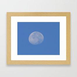 Day Moon Framed Art Print