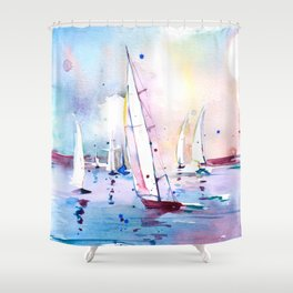 Wind in my Sail Shower Curtain