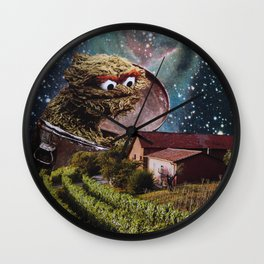 Grouch Wall Clock