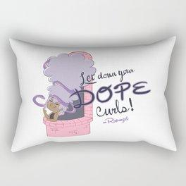 Rapunzel's Dope Curls Rectangular Pillow