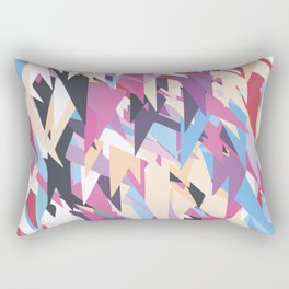 Happy Triangles 2 Rectangular Pillow