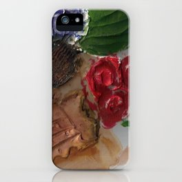 Gesso Scan iPhone Case