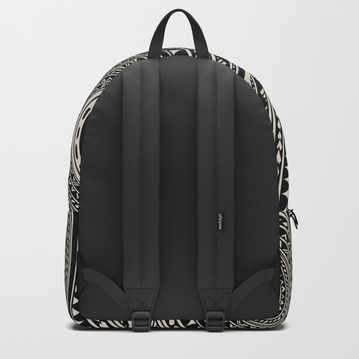 Polynesian  Frenchie Backpack